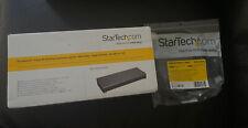 BNIB StarTech Thunderbolt 3 Dock with SD Card Reader - Dual-4K - 85W USB Power