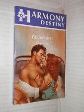GLI AMANTI Laura Leone Harlequin Mondadori 1992 harmony destiny 621 romanzo di