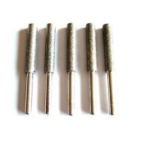 5pc Diamond Chainsaw Sharpening Rotary File Burrs 5/32""