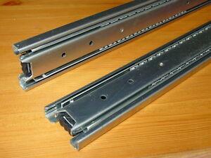 Paar Profi Vollauszüge 45 KG Vollauszug  250 bis 700 mm Länge Schwerlastauszug