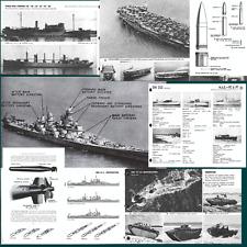 USA FORZE NAVALI e IWO JIMA raccolta 20 manuali formato PDF Navi Aerei Cannoni