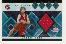 2003-04 TOPPS PRISTINE GEMS MARKO JARIC GAME JERSEY