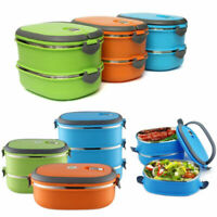 Thermal Insulated Bento Stainless Steel Food Container Lunch Box
