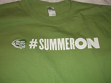 BUD LIGHT LIME # Summer On T Shirt Sz XL100% Cotton Green Gildan Brand