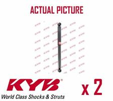 2 x NEW KYB REAR AXLE SHOCK ABSORBERS PAIR STRUTS SHOCKERS OE QUALITY 343299