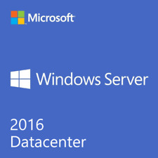 WINDOWS SERVER 2016 DATACENTER 32/64 BIT GENUINE ACTIVATION LICENSE KEY