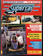 Supercar Magazine 1986 Team Warlord FJ Holden Willys Drag Racing Street Rod Car
