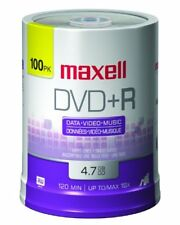 Maxell 639016 4.7 Gb Dvd+r [100-ct Spindle] (maxell Mxldvd+r/100)