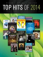 Top Hits of 2014 Sheet Music Piano Vocal Guitar SongBook NEW 000137781