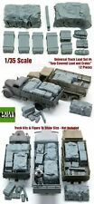 1/35 Scale resin kit Universal / Generic Truckload (Tarp Covered Crates) #4