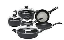 Ballarini Rialto Premium 10 Piece Cookware Set Pot Pan Set Aluminium Non-Stick