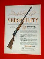 "1963 Browning  Automatic 5-Versatility-Original Print Ad 8.5 x 11"""