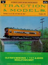 Traction & Models Magazine : Run No 181 : November 1980 : Old Fan's Memories