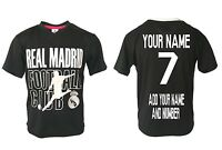 Real Madrid Jersey Soccer youth kid Training NEW - CUSTOMIZED SHIRT - Ronaldo 7