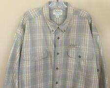 Cabela's Mens Long Sleeve Button Down Guidewear Outdoor Wear Size 2XL