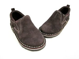 KENNETH COLE REACTION KICK WIT 2 SLIP ON, CHOCOLATE, 7.5 M TODDLER, NEW/DISPLAY