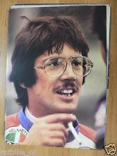 STEVE BAKER POSTER CC 1978 ROADRACE,PILOTE CONTINENTAL CIRCUS MOTO GP