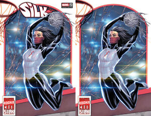 Silk #2 Tyler Kirkham Basketball Trading Card Virgin Variant Marvel Set 2