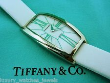 TIFFANY & CO. GEMEA LADIES STAINLESS STEEL WHITE WATCH
