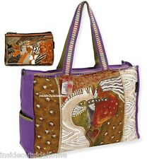 Laurel Burch Love Horse OVERSIZED Travel Tote Sport Tack Moroccan Makeup Bag New