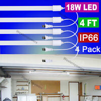 Westernpowers 4 Pack 72W LED Light Bulb for Storage Shop light Cabinet Light