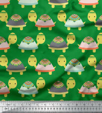 Soimoi Fabric Turtle Kids Print Fabric by the Meter - KD-592C