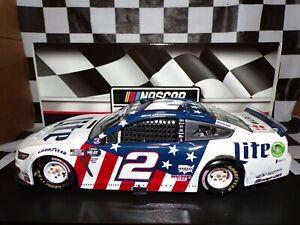 Brad Keselowski #2 Miller Lite Patriotic Charlotte Win 1:24 Mustang Action RV
