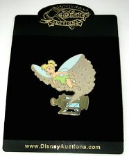 Le Disney Auctions Jumbo Pin✿Tink Tinker Bell Captain Hook Action Escape Lantern