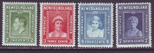 Newfoundland 1938 SC 245-248 MH Set