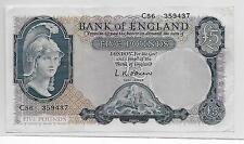 Great Britain 5 Pounds Sterling 1957 P271-A XF