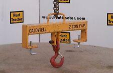 Caldwell 10S-2-20 Swivel Single Hook Fork Beam