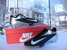 CHROME SILVER BLACK WHITE NEW Nike Vapor Talon Elite L0W Cleats US 14   NICE