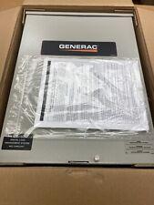 GENERAC 100 AMP TRANSFER SWITCH RR-100 A3