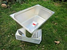 APS 6 St GN 1/1 Gastronorm Edelstahl Behälter 200 tief Gastronormbehälter neu