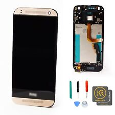 Original Gold Display LCD Touch Screen Digitizer Assembly for HTC One Mini 2