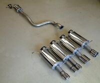 Mongoose Exhaust Cat Back System - Ford Fiesta ST180 Mk7