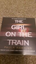 The Girl on the Train by Paula Hawkins (CD-Audio 9 discs unabridged, 2015)