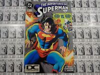Adventures of Superman (1987) DC - #526, DC Universe Logo UPC Variant, FN-