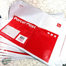 10x Prepaid 5kg Large Parcel Post Satchel Australia Office Regular Bag Red