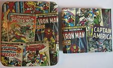 Avengers Hulk Iron Man Thor Slimfold Wallet Collector Tin Marvel Comics New 0010