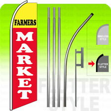 SWOOPER FEATHER FLAG KITS WITH POLE/&GROUND SPIKE 2 LIBERTY TAX SERVICE RED TWO
