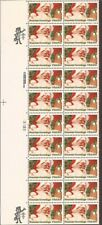 US Stamp 1983 20c Christmas Santa Claus - Plate Block of 20 Stamps #2064