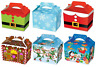 Boys Girls Christmas Xmas Themed Food Loot Lunch Party Treat Box Boxes