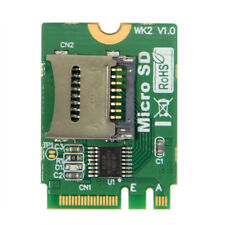 M2 NGFF key WIFI Slot To Micro SD SDHC SDXC TF card Rearder T-Flash Card M.2 A+E