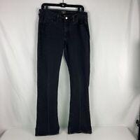 Women's Black Riders By Lee Size 12 Long Jeans Pants