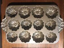 New ListingNordic Ware Pumpkin Patch Pan 12 Muffin Cast Aluminum Williams-Sonoma 6 cup