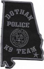 K-9 GHF Alabama Dothan police patch Police insigne chiens dirigeants USA k9 équipe