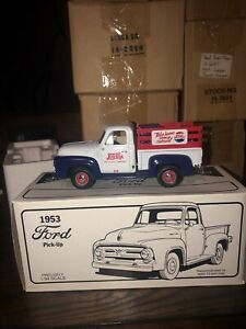 First Gear 19-1582 Pepsi Cola 1953 Ford Pick Up Truck Diecast [lot#65]