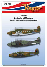 Vingtor 1/72 Lockheed C-60 Lodestar & Hudson in WWII BOAC Markings # 72128
