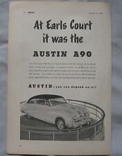 1949 Austin A90 Original advert No.1